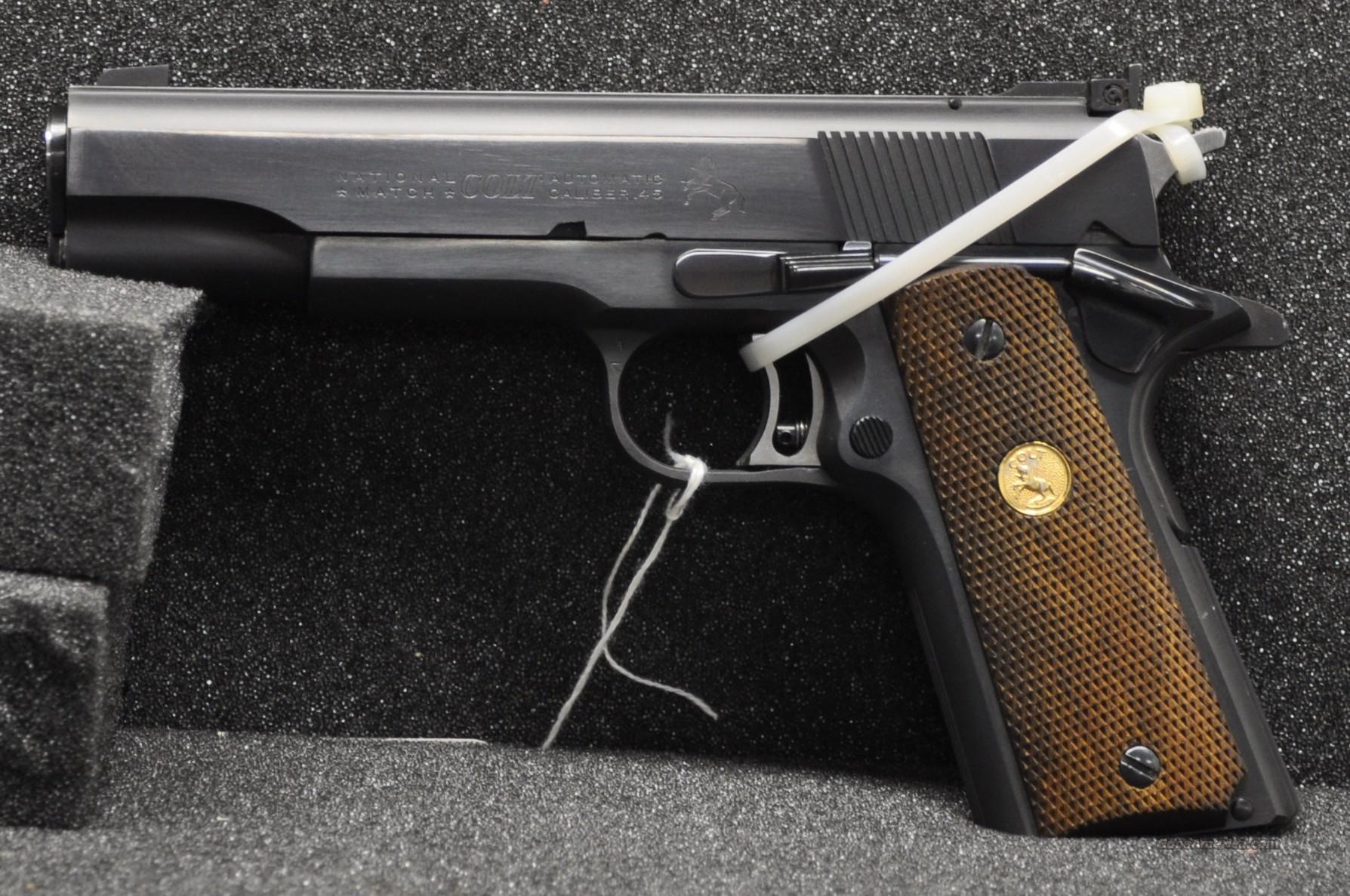 Colt National Match mfg in 1969  Guns > Pistols > Colt Automatic Pistols (1911 & Var)