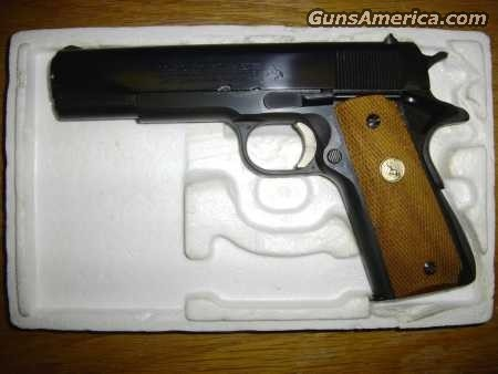 COLT MODEL O1970 GOVERNMENT MODEL BLUE  Guns > Pistols > Colt Automatic Pistols (1911 & Var)