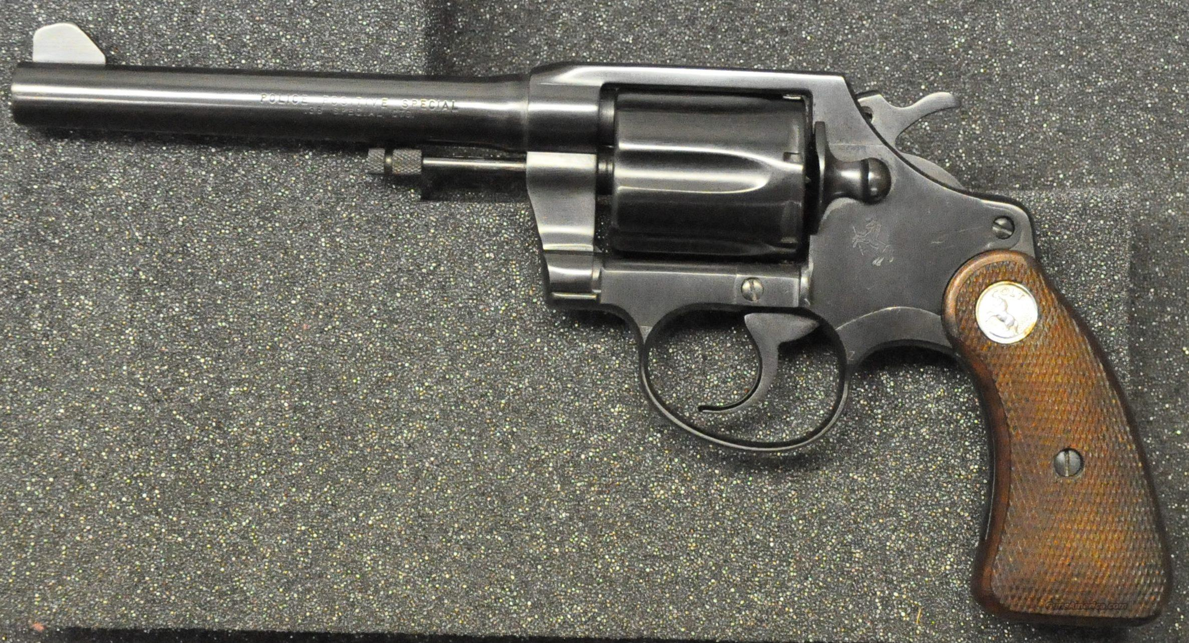 Colt Police Positive Special 38 Special  Guns > Pistols > Colt Double Action Revolvers- Modern