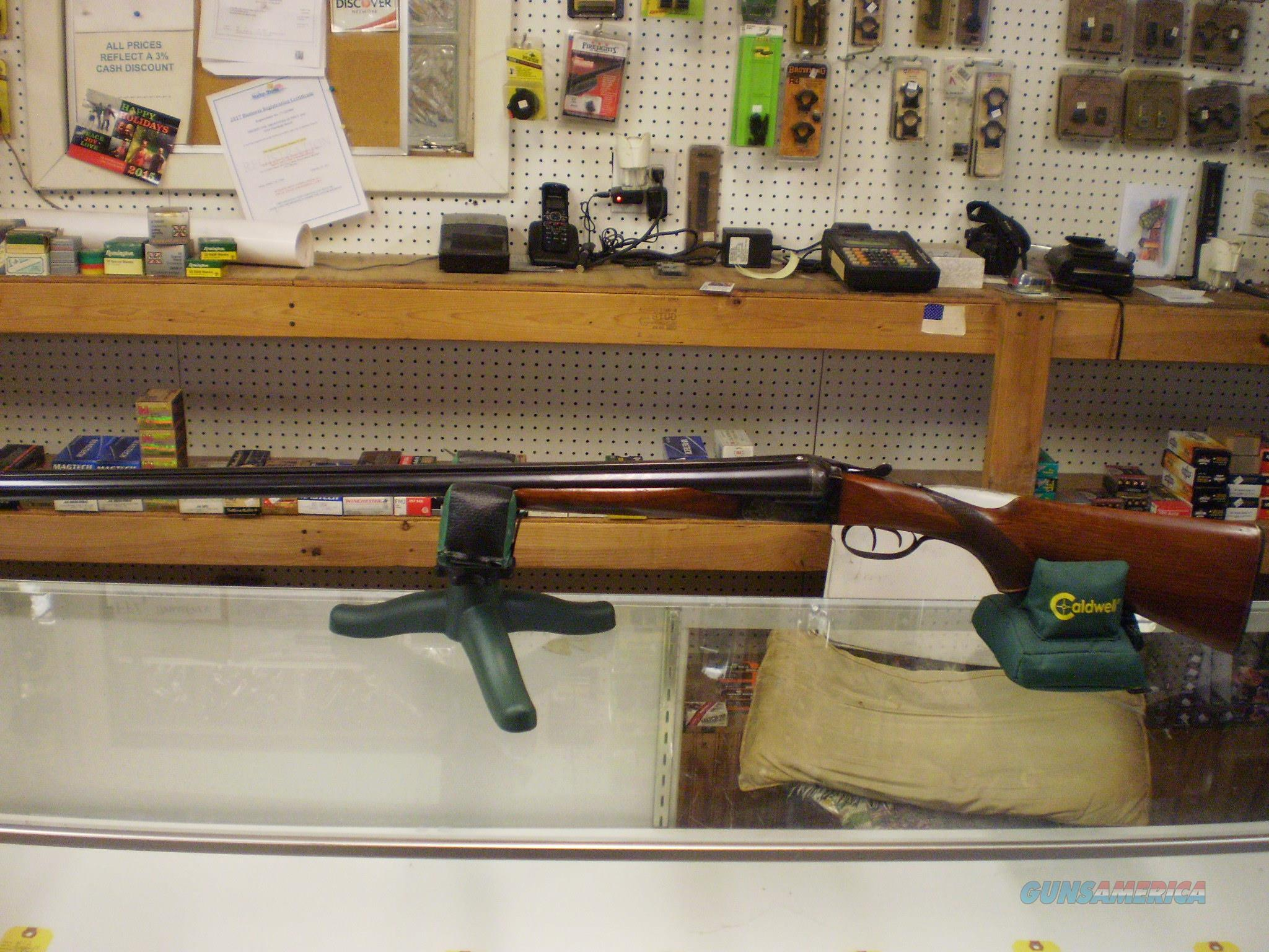 SPANISH MADE GASPAR 12 GAUGE SXS  Guns > Shotguns > G Misc Shotguns