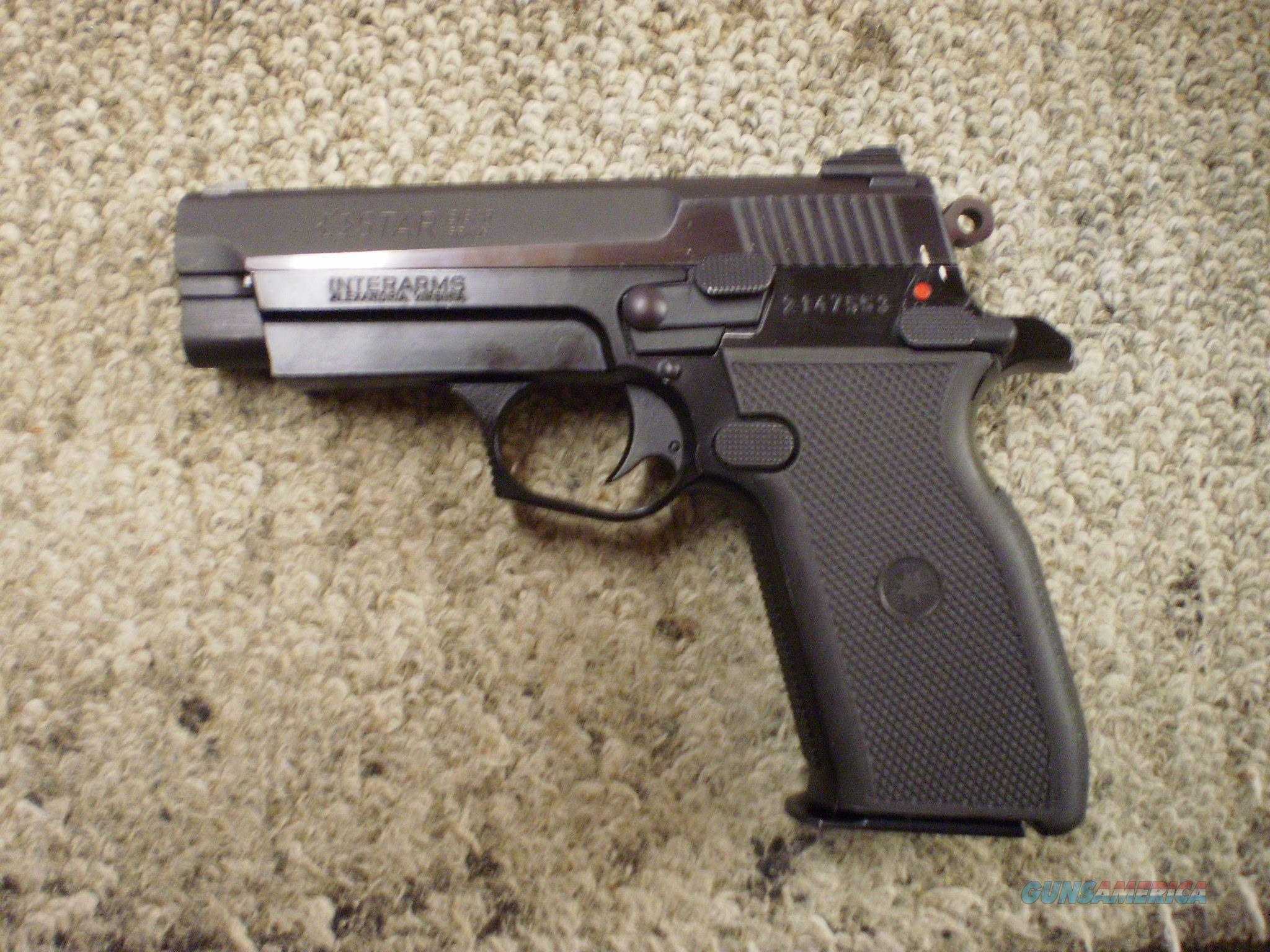 STAR FIRESTAR PLUS 9X19  Guns > Pistols > Interarms Pistols