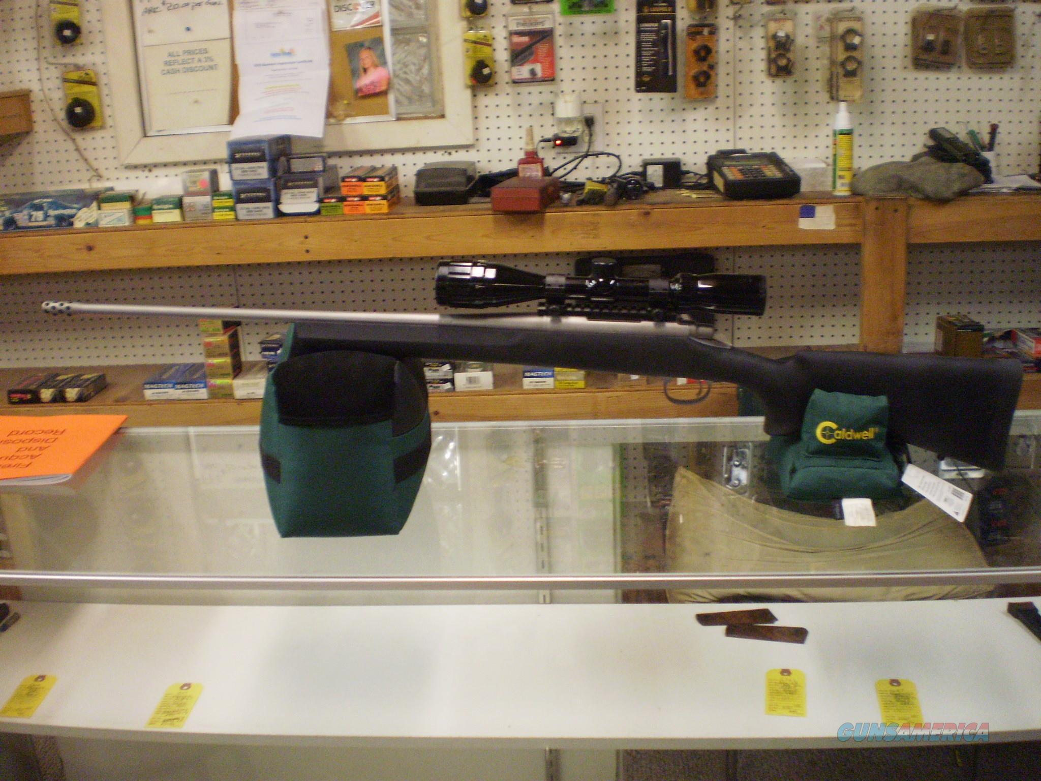 REMINGTON 700 STAINLESS 7MM-08  Guns > Rifles > Remington Rifles - Modern > Model 700 > Sporting