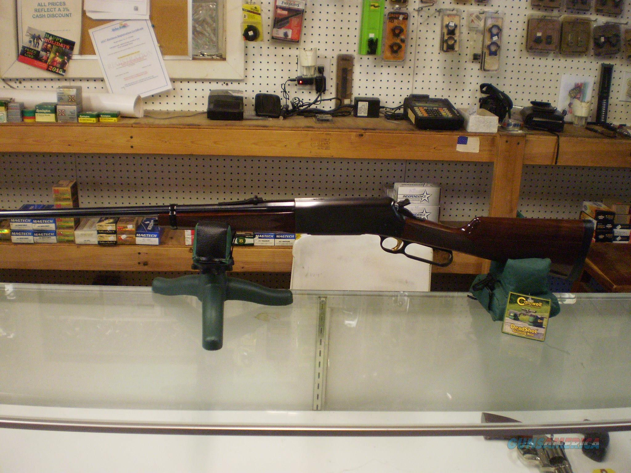 BROWNING BLR 81 7MM REM MAG  Guns > Rifles > Browning Rifles > Lever Action