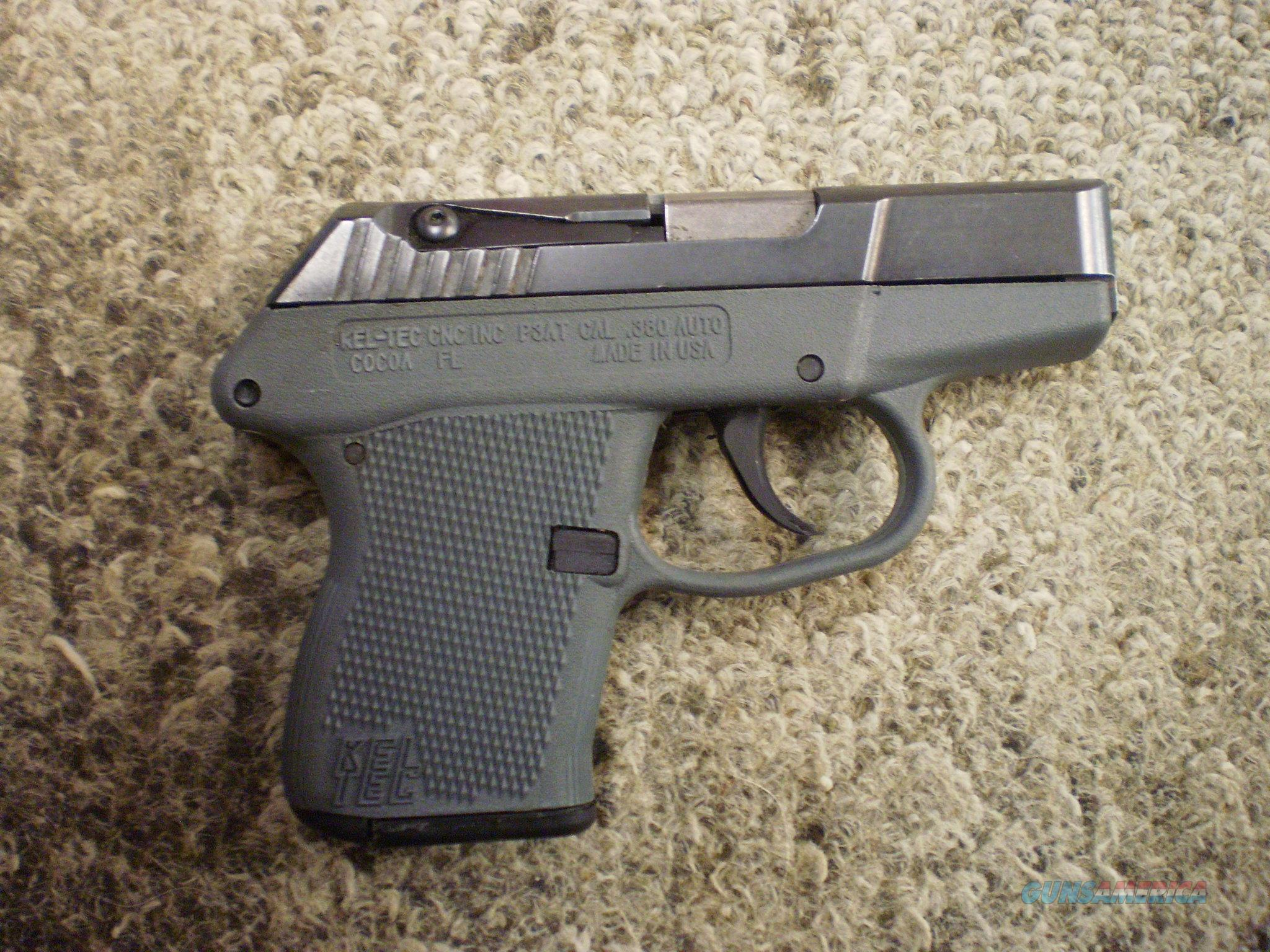 KEL-TEC P3AT 380 ACP  Guns > Pistols > Kel-Tec Pistols > Pocket Pistol Type