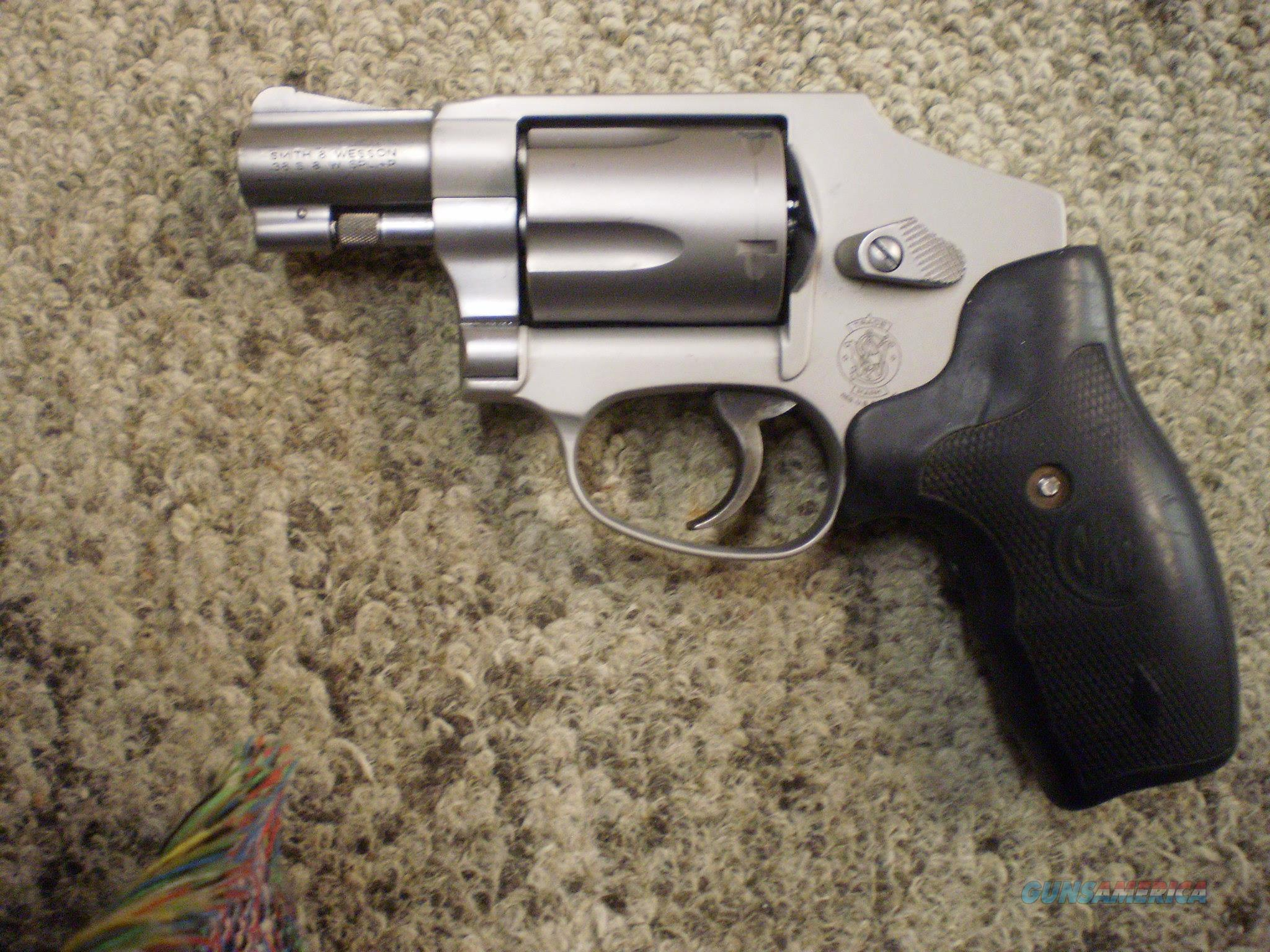 SMITH & WESSON MODEL 642 38 SPL.  Guns > Pistols > Smith & Wesson Revolvers > Small Frame ( J )