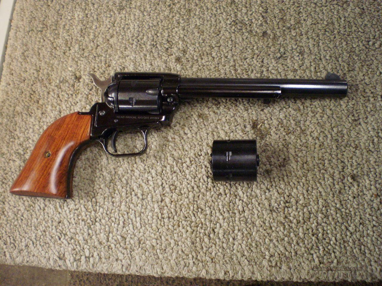 HERITAGE ARMS ROUGH RIDER 22/22MAG COMBO.  Guns > Pistols > H Misc Pistols