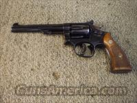 SMITH & WESSON K-22 MASTERPIECE  Guns > Pistols > Smith & Wesson Revolvers > Full Frame Revolver