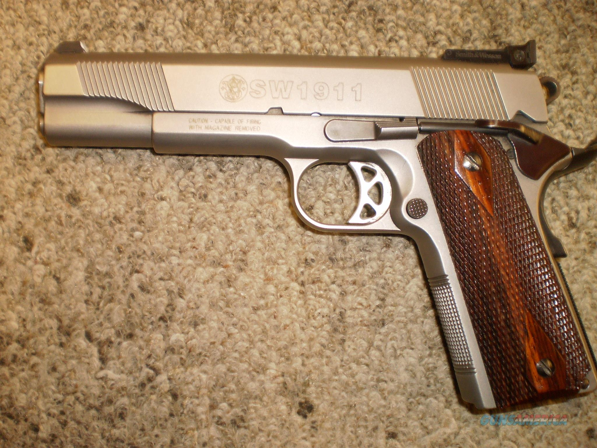 SMITH & WESSON 1911 45 ACP  Guns > Pistols > Smith & Wesson Pistols - Autos > Steel Frame