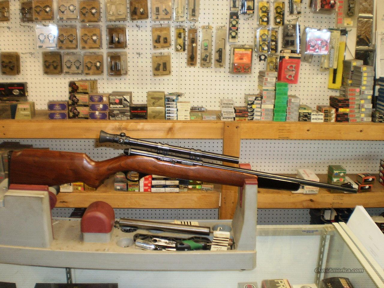 MOSSBERG MODEL 152 SEMI AUTO 22  Guns > Rifles > Mossberg Rifles > Plinkster Series