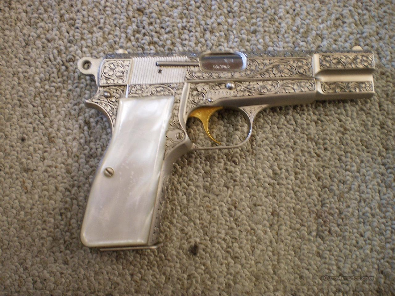 BROWNING RENAISSANCE HI-POWER  Guns > Pistols > Browning Pistols > Hi Power
