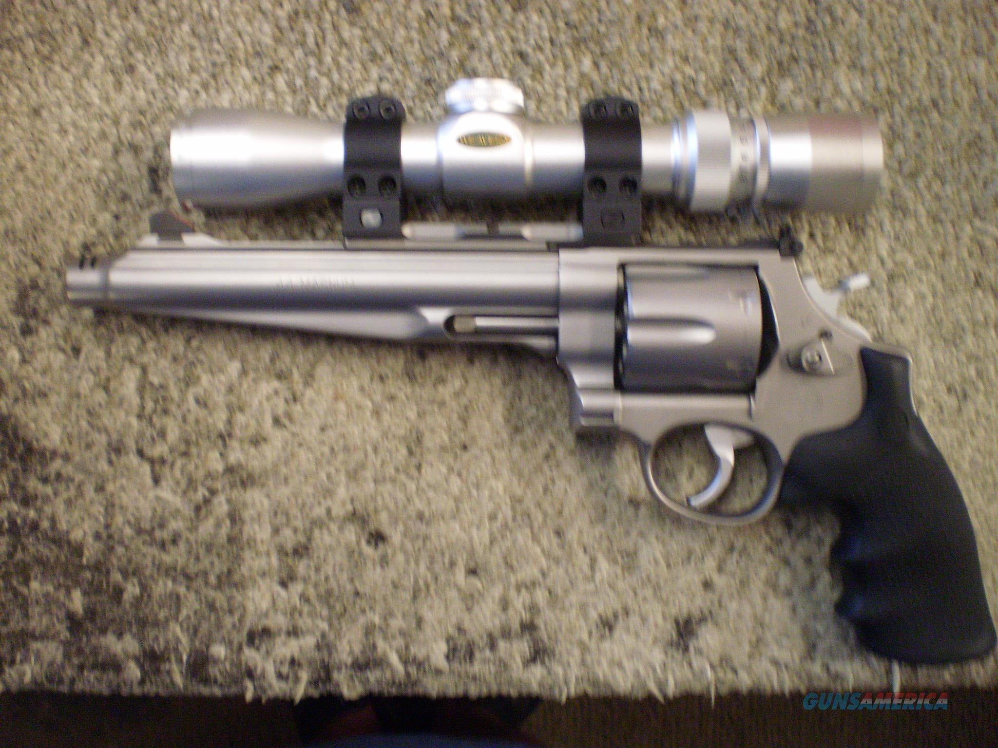SMITH & WESSON PERFORMANCE CENTER 44 MAGNUM  Guns > Pistols > Smith & Wesson Revolvers > Performance Center