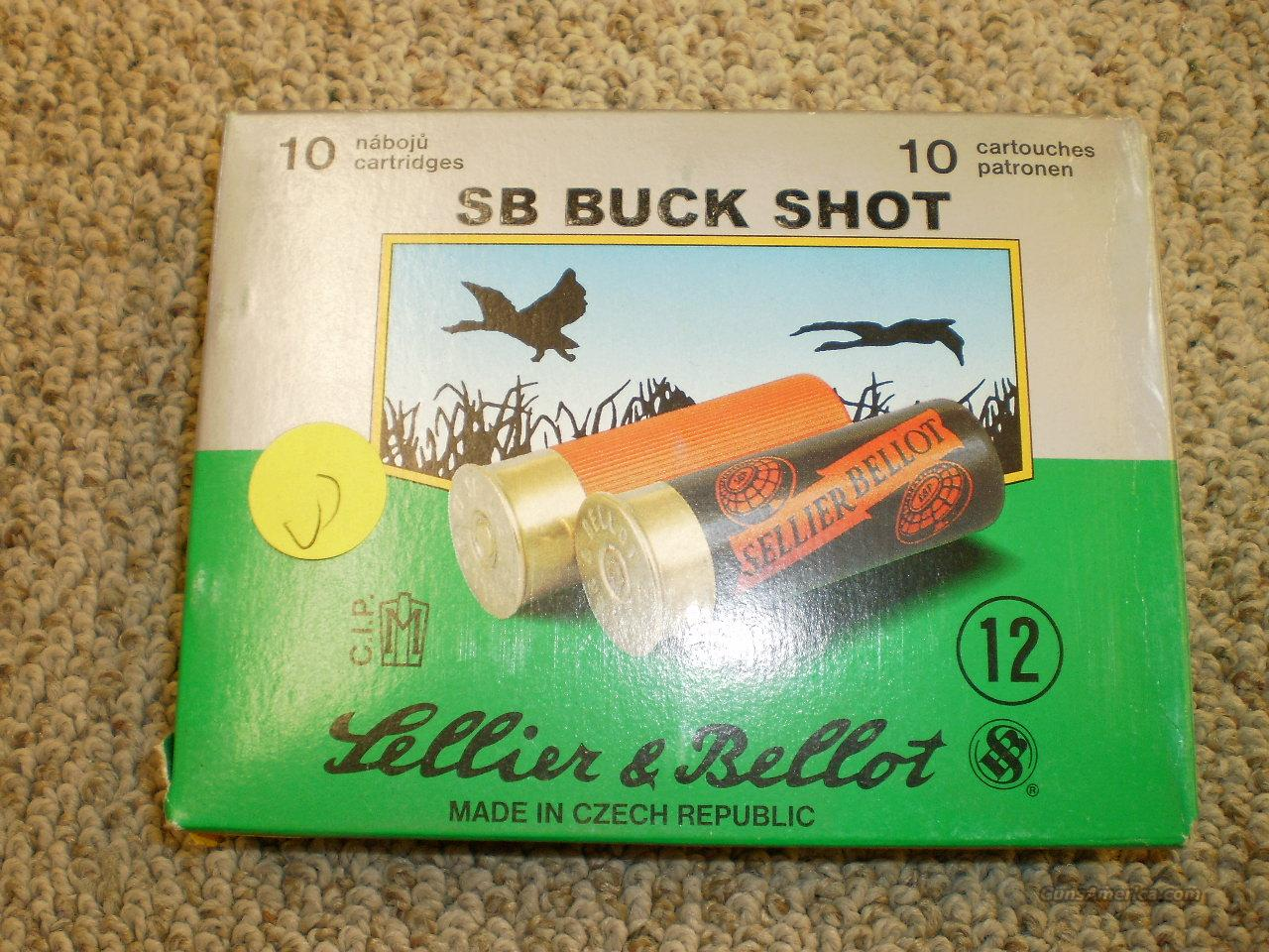 "Sellier@Bellot Buckshot 12ga 2 3/4""  Non-Guns > Ammunition"