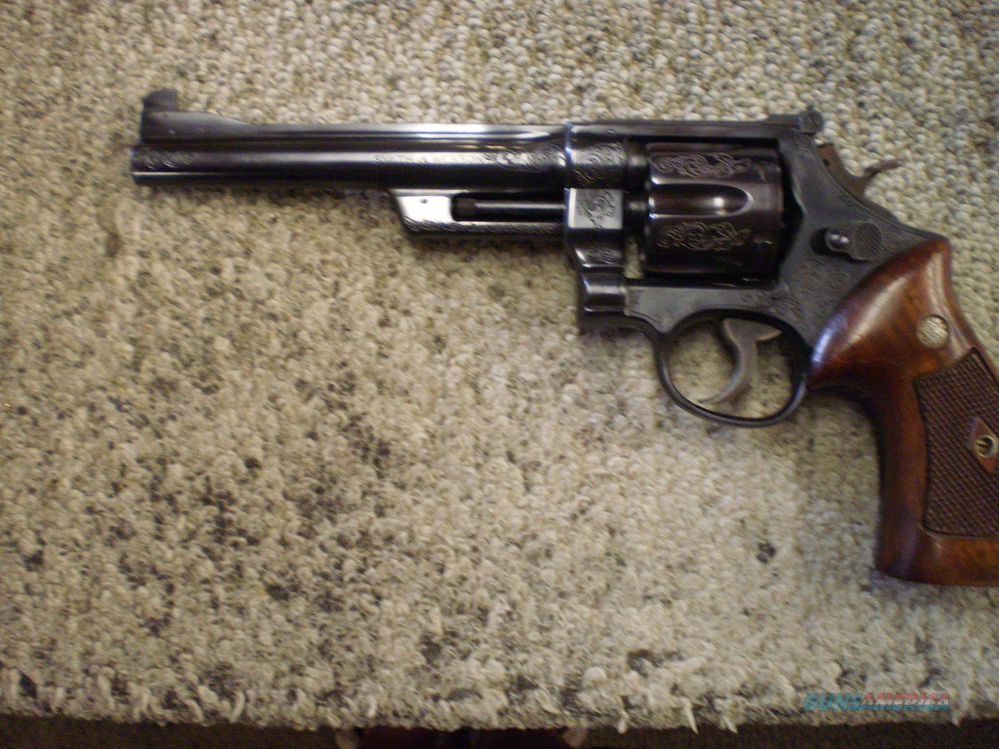 SMITH & WESSON MODEL OF 1950 45 ACP  Guns > Pistols > Smith & Wesson Revolvers > Full Frame Revolver