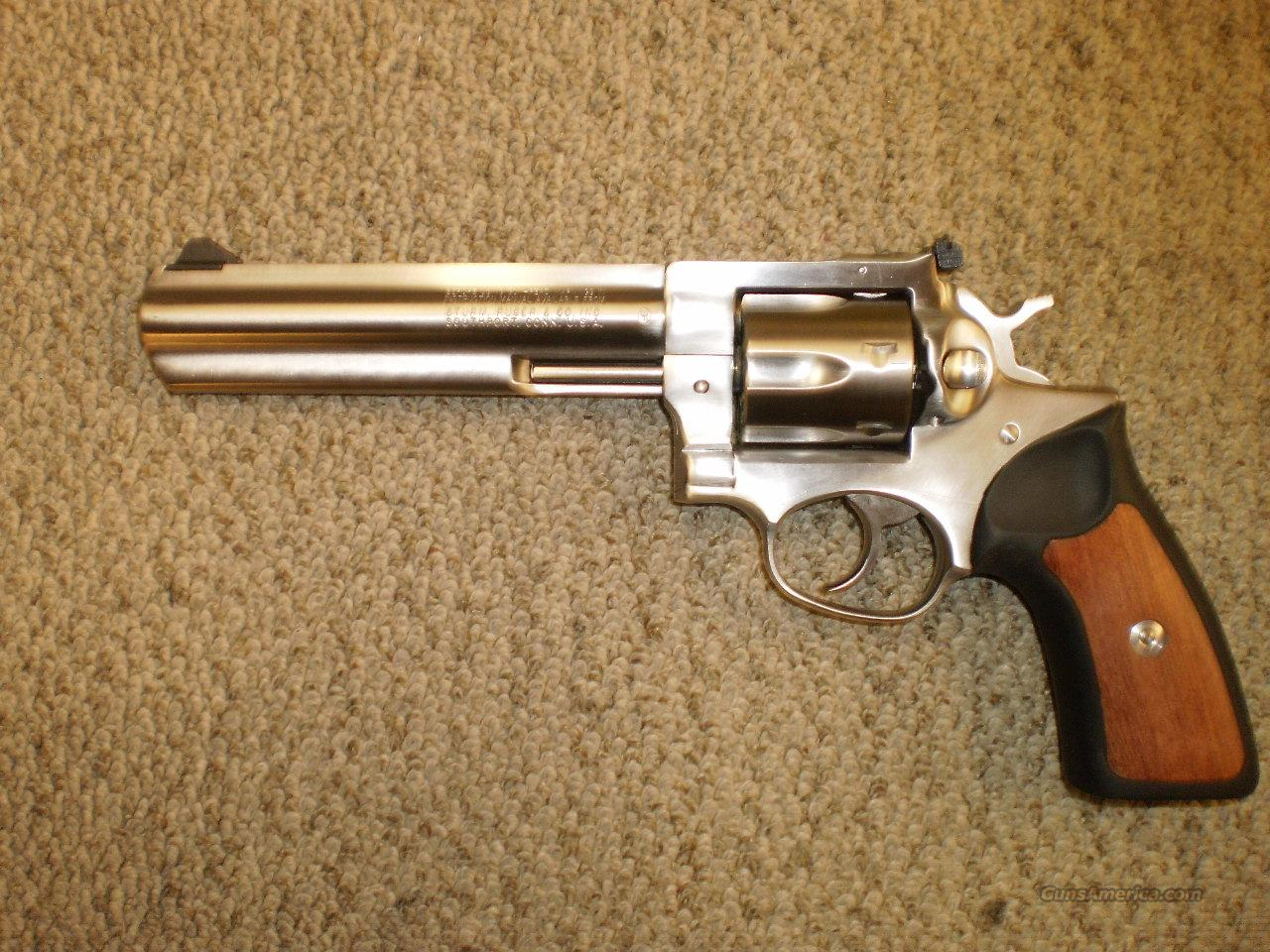RUGER GP100 STAINLESS FULL LUG  Guns > Pistols > Ruger Double Action Revolver > Redhawk Type