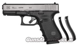 GLOCK 19 GENERATION 4 9 MM  Guns > Pistols > Glock Pistols > 19