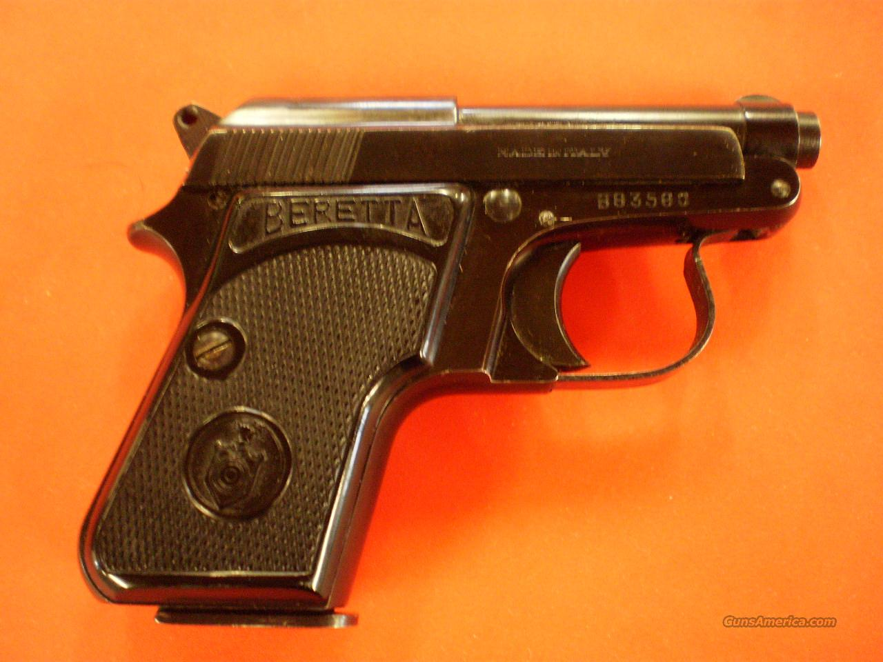 BERETTA MODEL 950 25 ACP  Guns > Pistols > Beretta Pistols > Small Caliber Tip Out