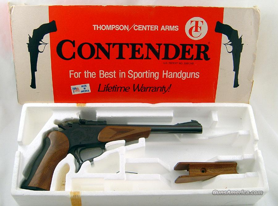Thompson Center Contender Super 14  Guns > Pistols > Thompson Center Pistols > Contender