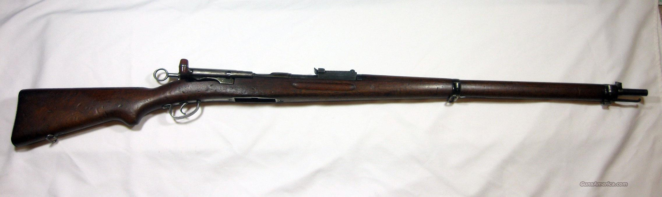 Swiss Schmit Ruben 1911 7.5x55  Guns > Rifles > Military Misc. Rifles Non-US > Shmidt Rubin