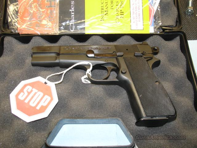 HIPOWER CHARLES DALY 9MM  Guns > Pistols > Browning Pistols > Hi Power