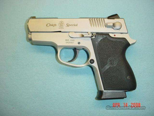 S&W MODEL CS40 CHIEFS SPECIAL  Guns > Pistols > Smith & Wesson Pistols - Autos > Alloy Frame