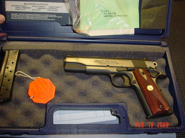 COLT S80 ENHANCED 38 SUPER  Guns > Pistols > Colt Automatic Pistols (1911 & Var)