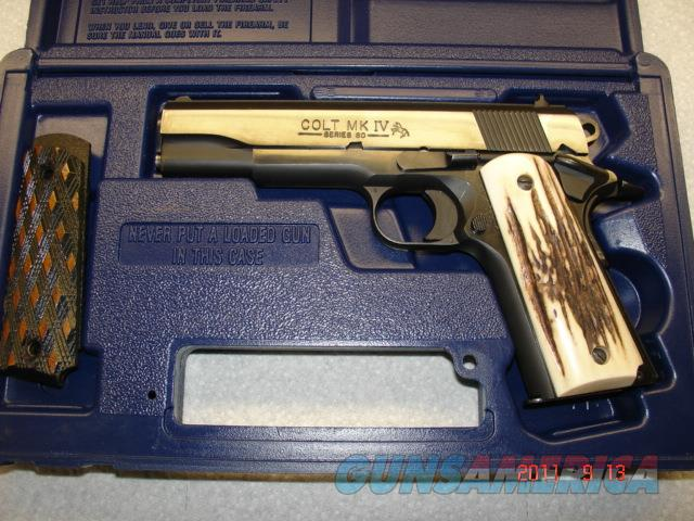 COLT S80 1911 GOVERNMENT MDL 45 ACP ENHANCED  Guns > Pistols > Colt Automatic Pistols (1911 & Var)