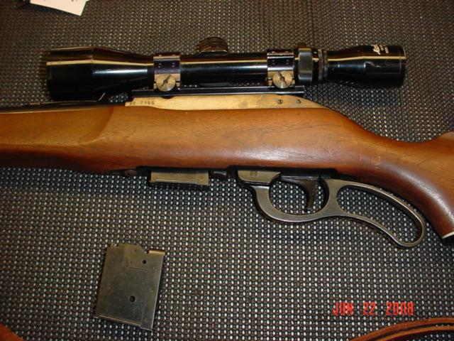 MARLIN M62 30 CARBINE  Guns > Rifles > Marlin Rifles > Modern > Lever Action