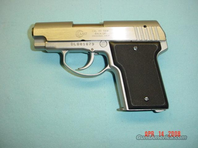 AMT BACKUP 40 S&W  Guns > Pistols > AMT Pistols > Double Action