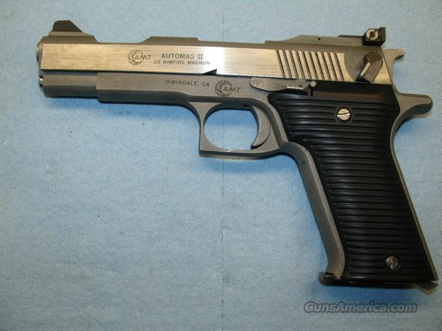 AMT AUTOMAG II 22 MAGNUM 4.5 INCH BBL  Guns > Pistols > AMT Pistols > Other