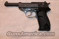 Walther P1(P38 clone)  Guns > Pistols > Walther Pistols > Post WWII > P38