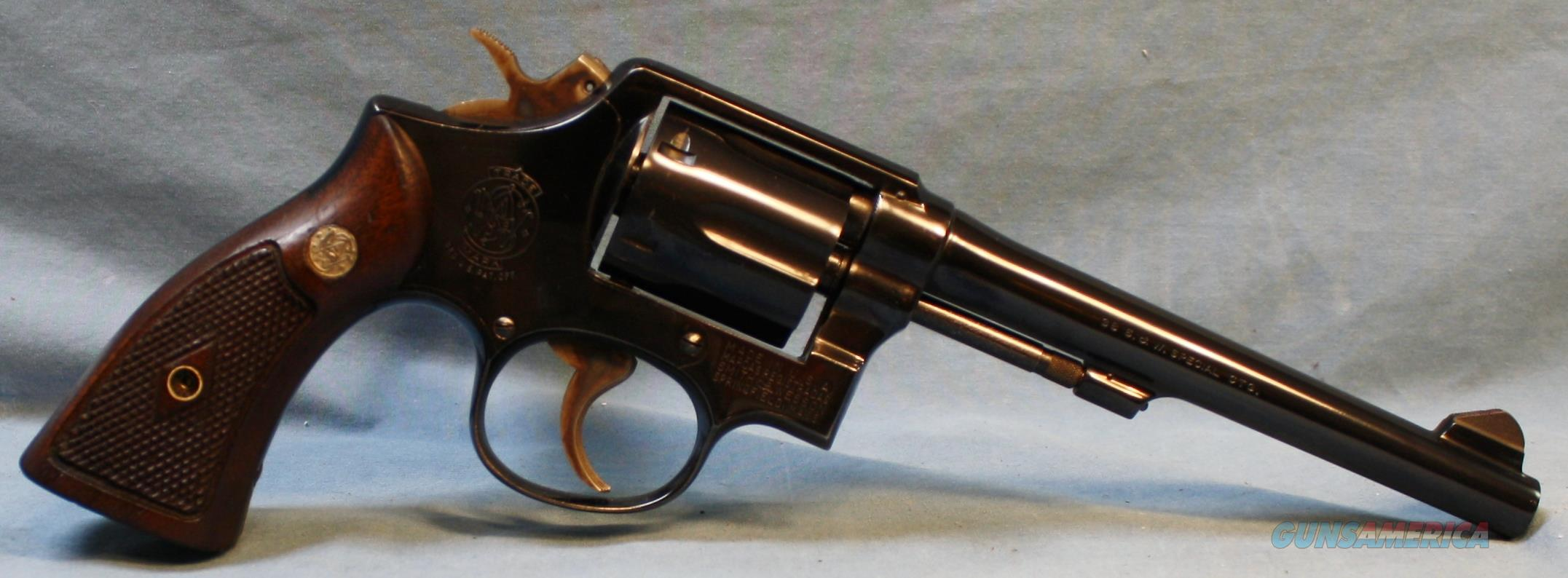 Smith & Wesson model 10-5 Double Action Revolver, made in 1962, 38spl Free Shipping!!  Guns > Pistols > Smith & Wesson Revolvers > Model 10