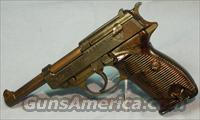 Walther P-38 WWII German Army Semi-Automatic Pistol 9mm  Guns > Pistols > Walther Pistols > Pre-1945 > P-38