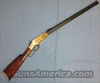 Uberti Henry Model 1860 44-40 Lever Action Rifle  Guns > Rifles > Uberti Rifles > Lever Action
