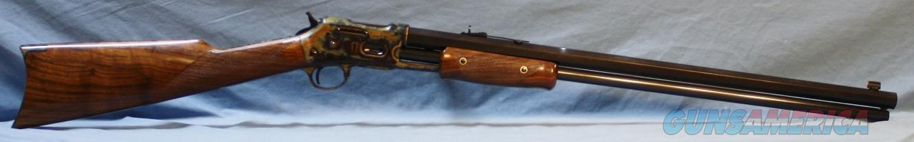 Navy Arms Pedersoli Model 1877 Pump Action Rifle, .45 Colt Free Shipping!!  Guns > Rifles > Navy Arms Rifles