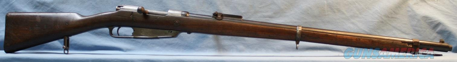 GEW Model 88 Commission Rifle, 8x57mmJ Mauser (.318 bullet), Made at Amberg Arsenal in 1891 Free Shipping!  Guns > Rifles > Military Misc. Rifles Non-US > Other