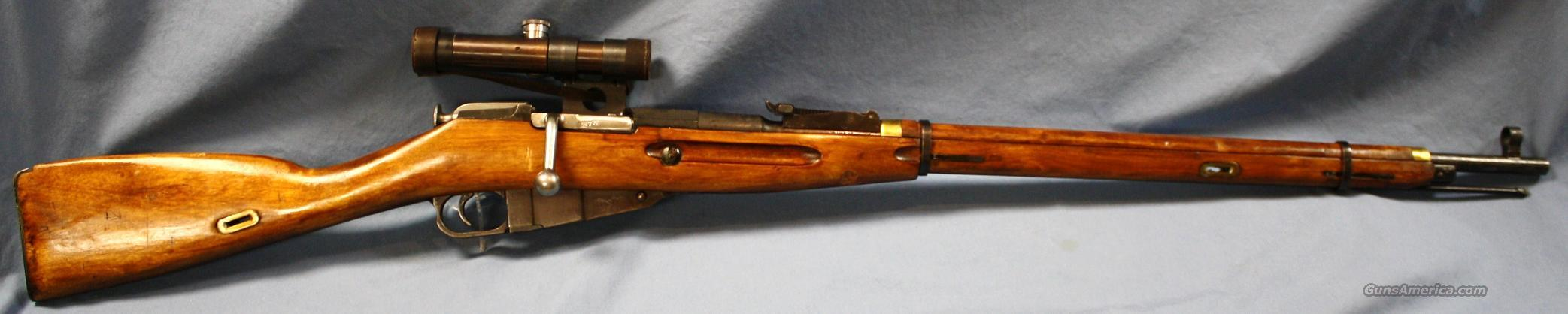 Mosin-Nagant 1891/30 Tula WWII Soviet Army Bolt Action Sniper Rifle 7.62x54R  Guns > Rifles > Mosin-Nagant Rifles/Carbines