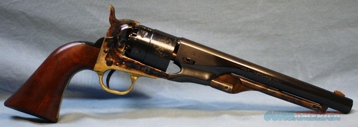 Traditions 1860 Army Single Action Percussion Revolver, made by Pietta, 44 caliber Free Shipping!  Guns > Pistols > Traditions Pistols
