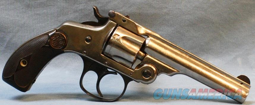 Smith and Wesson Double Action 4th Model Revolver, 32 s&w Free Shipping!  Guns > Pistols > Smith & Wesson Revolvers > Pre-1899