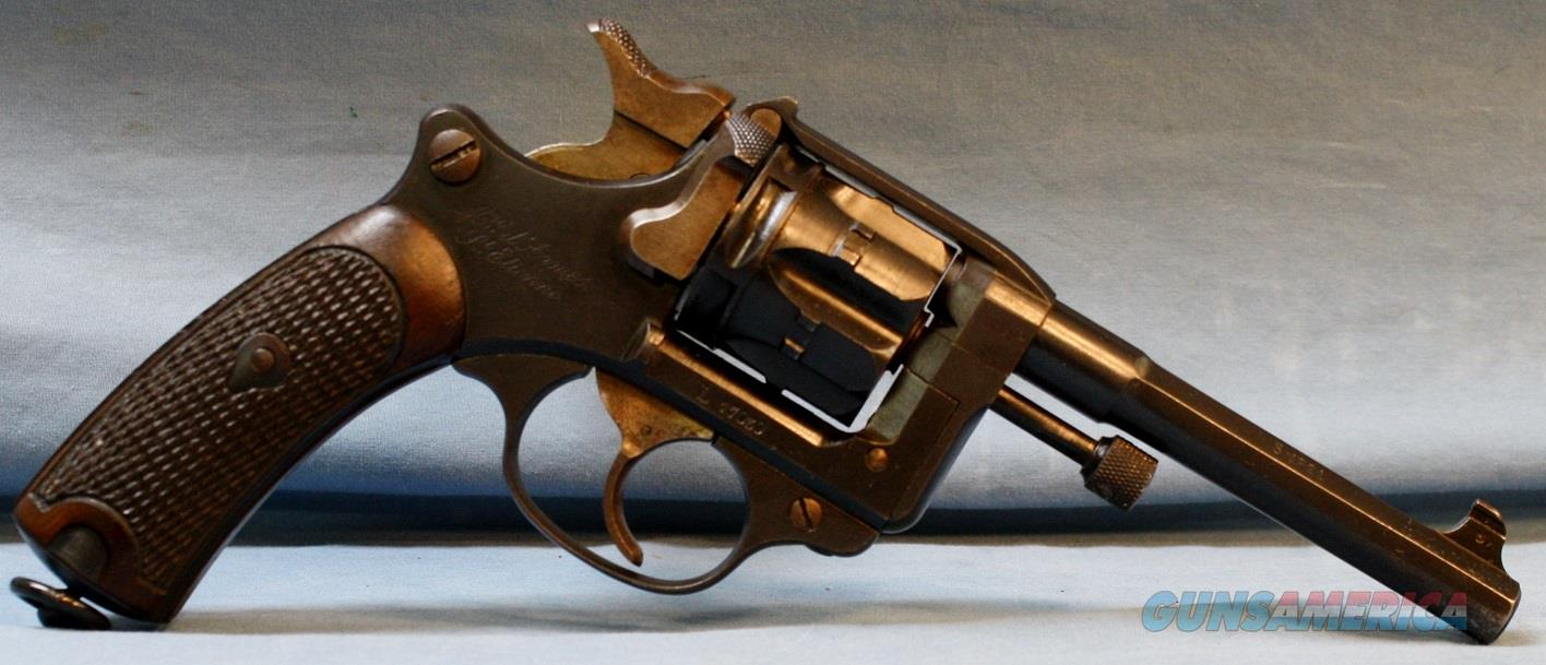 French Modèle 1892  Double Action Revolver, made in 1921 by Manufacture d'armes de Saint-Étienne, 8mm Lebel Free Shipping!  Guns > Pistols > Military Misc. Pistols Non-US