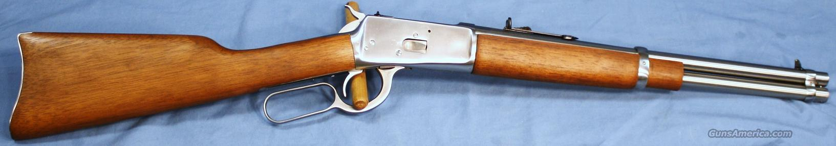 Rossi Model 92 Trapper Stainless Lever Action Rifle .44 Magnum  Guns > Rifles > Rossi Rifles > Cowboy