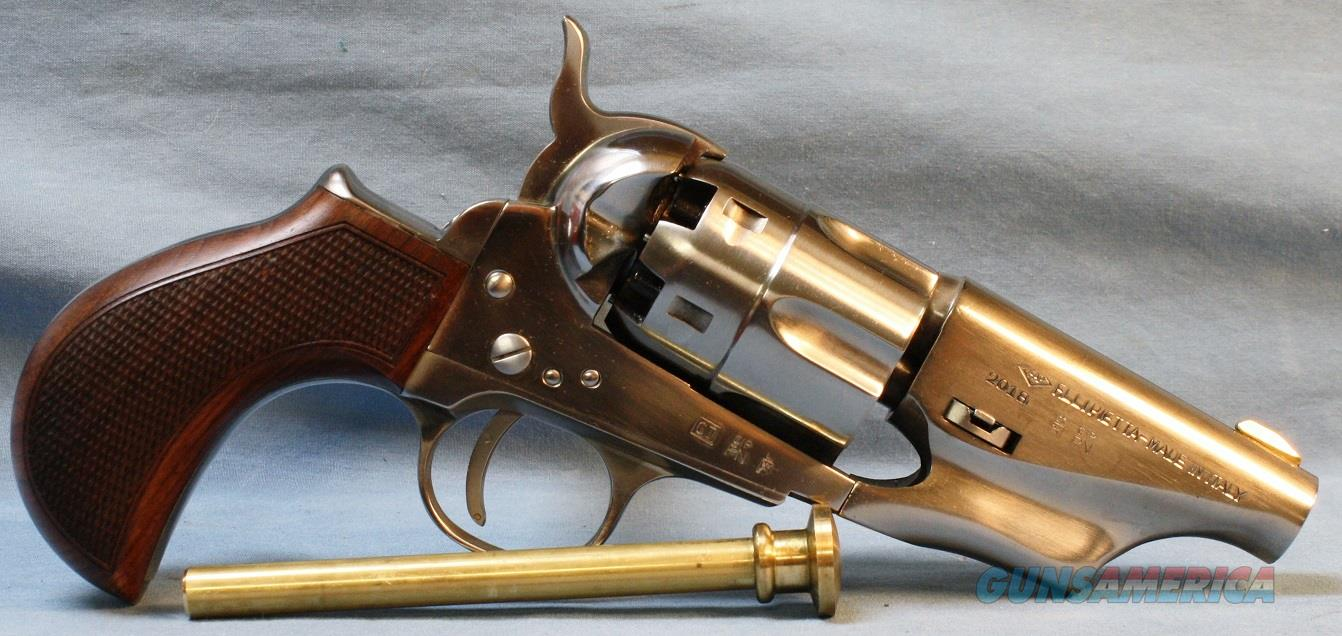 Taylors & Co. 1860 Army Snub Nose Single Action Percussion Revolver, made by Pietta, 44 Caliber Free Shipping!  Guns > Pistols > Taylors & Co. Pistols > Percussion