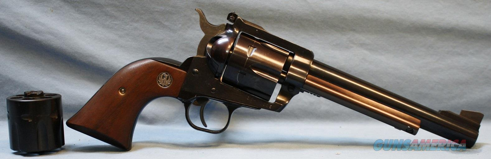 Ruger Blackhawk Single Action Revolver, 357 Magnum / 9mm (made in 1986) Free Shipping!  Guns > Pistols > Ruger Single Action Revolvers > Blackhawk Type