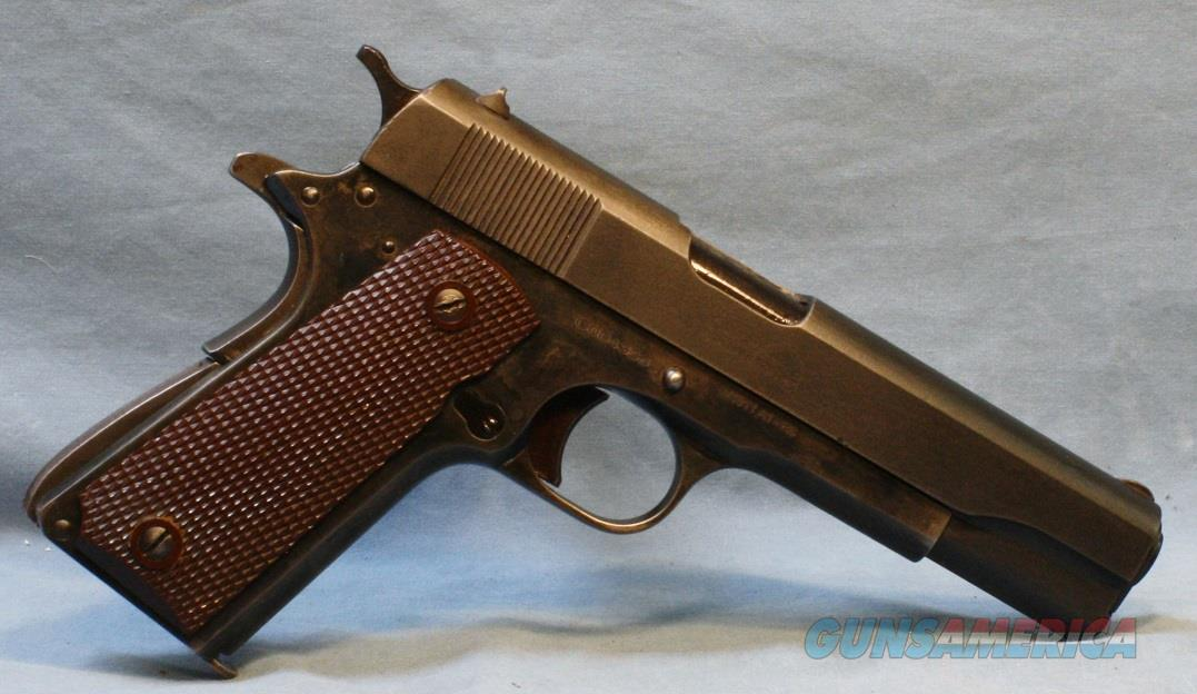 Remington Rand / Cimarron 1911 style Semi-Automatic Pistol, .45 acp Free Shipping!!  Guns > Pistols > Military Misc. Pistols US > 1911 Pattern