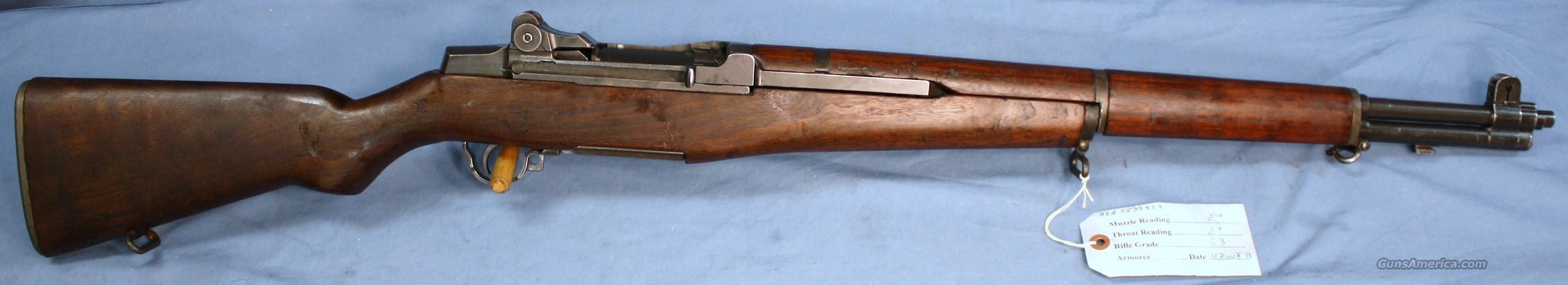 U.S. Army M1 Garand HRA Semi-Automatic Rifle .30-06  Guns > Rifles > Military Misc. Rifles US > M1 Garand