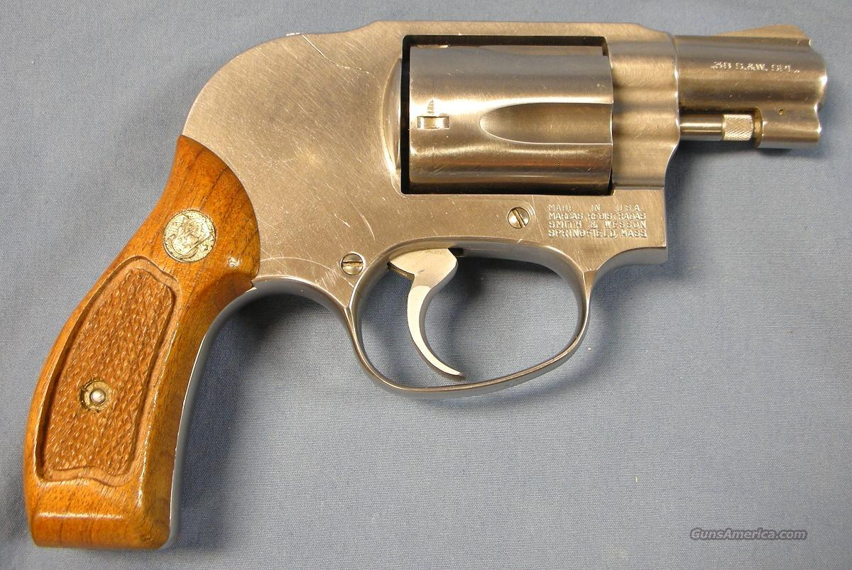 Smith & Wesson Model 649 Stainless Steel Revovler 38 special   Guns > Pistols > Smith & Wesson Revolvers > Full Frame Revolver