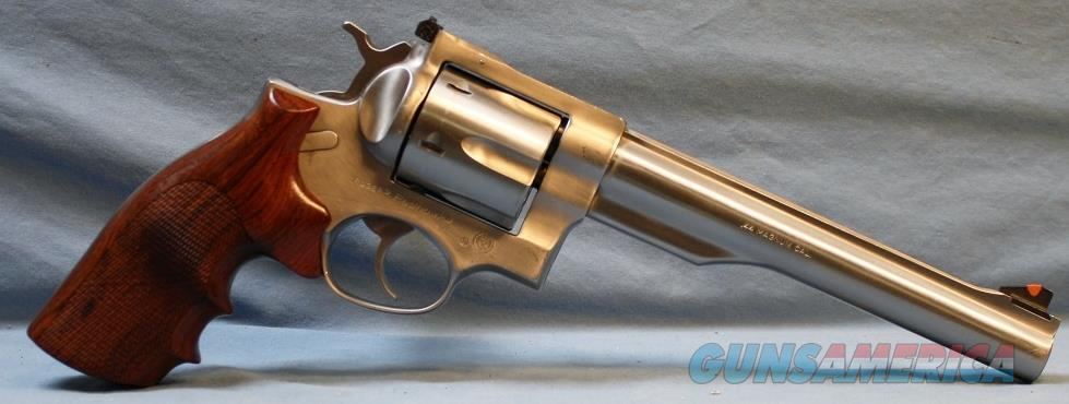 Ruger Redhawk Stainless Steel Double Action Revolver, made in 1982, 44 magnum Free Shipping!  Guns > Pistols > Ruger Double Action Revolver > Redhawk Type
