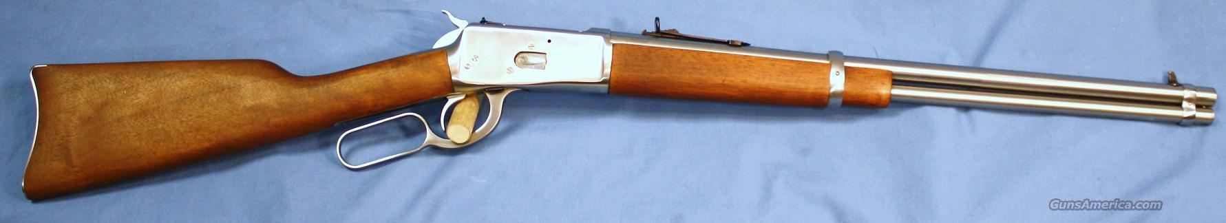 Rossi Model 92 Stainless Steel Lever Action Carbine 357 Magnum  Guns > Rifles > Rossi Rifles > Cowboy