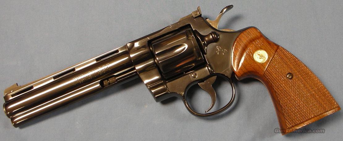 Colt python 357 magnum - Lookup BeforeBuying