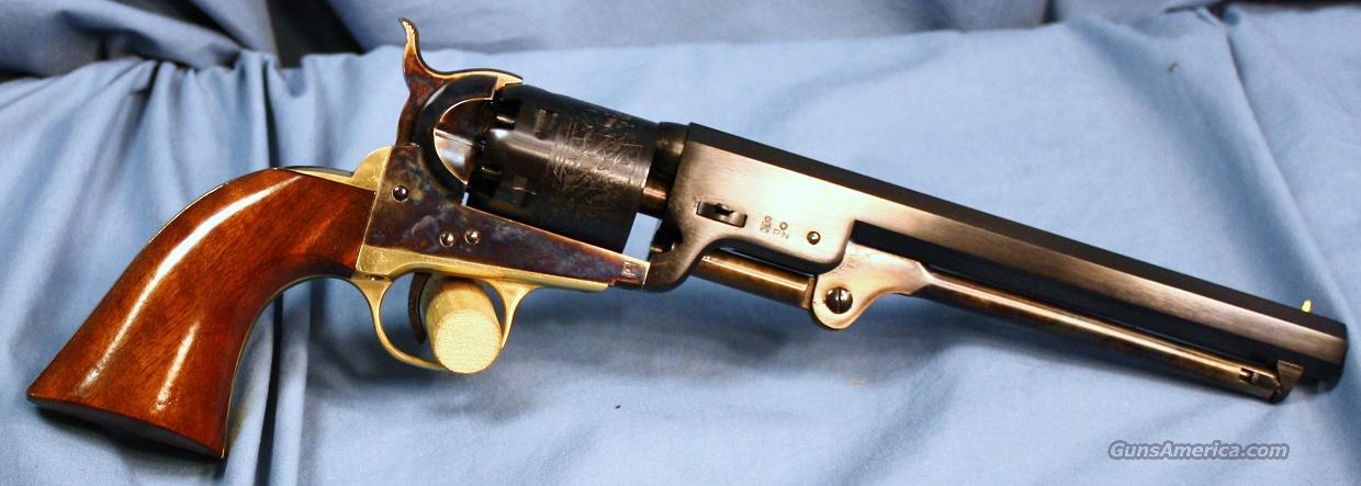 Uberti 1851 Navy Single Action Percussion Revolver .36 Caliber  Guns > Pistols > Uberti Pistols > Percussion