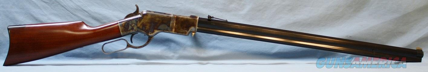 Uberti Henry Model 1860 Lever Action Steel Frame Rifle, 45 Colt Free Shipping!!  Guns > Rifles > Uberti Rifles > Lever Action